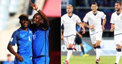 U20 Pháp VS U20 Italia trận đại chiến vòng 1/8 U20 World Cup 2017