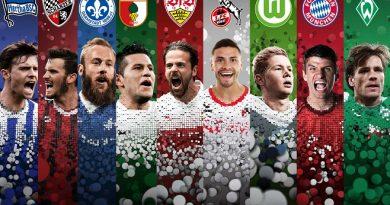 Top ghi bàn Bundesliga của bóng đá Đức mùa 2016/2017.