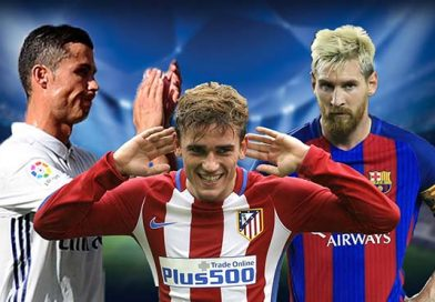 Grieazmann có thể cạnh tranh vs Ronaldo và Messi?