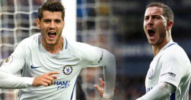 Song sát Hazard-Morata chắp cánh Chelsea