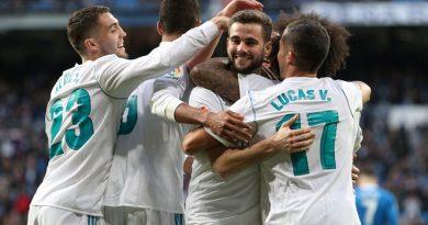Real Madrid đại thắng