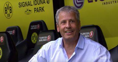 Lucien Favre lên làm HLV trưởng của Dortmund