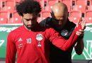 Salah được kiểm tra vai kỹ lưỡng