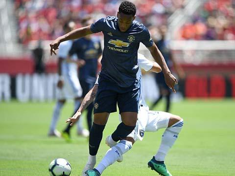 Martial và Rojo se som roi Man Utd