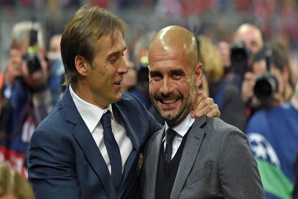 Pep Guardiola vẫn ủng hộ Julen Lopetegui.