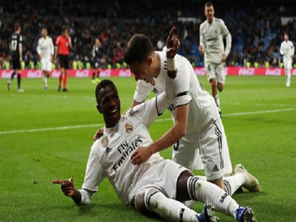 Real lên ngôi nhì bảng: Sự thay đổi từ Vinicius