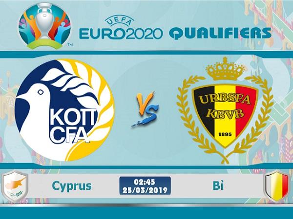 Soi kèo Cyprus vs Bỉ, 2h45 ngày 25/03