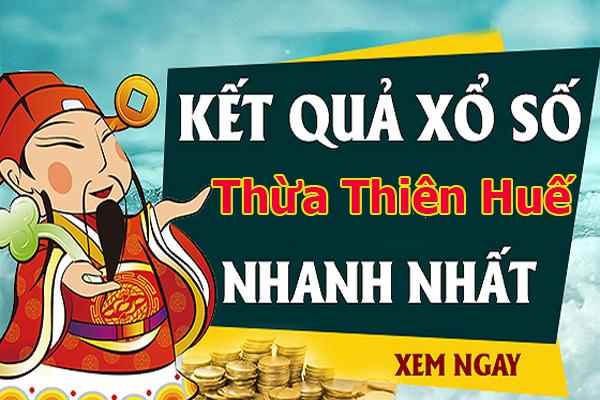 Soi cầu XS Thừa Thiên Huế chính xác thứ 2 ngày 19/08/2019