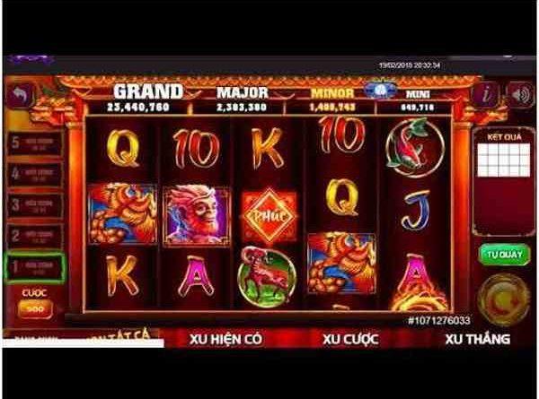Quay slot rồng vàng online – trò chơi đổi thưởng hấp dẫn