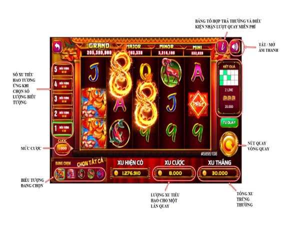 Hướng dẫn chơi game slot rồng vàng