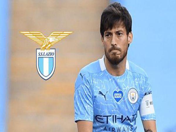 David Silva tiếp xúc với lãnh đạo Lazio