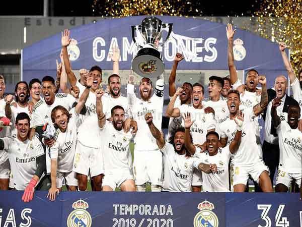 Đội bóng giàu nhất thế giới Real Madrid