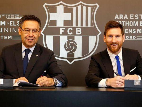 Tin bóng đá chiều 28/8: Messi tiếp tục gây sức ép tới chủ tịch Barca