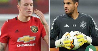 Bóng đá Anh sáng 23/10: Phil Jones và Sergio Romero sắp rời MU