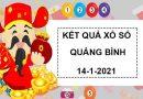 Thống kê xổ số Quảng Bình thứ 5 ngày 14/1/2021