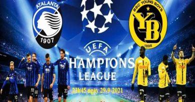 Soi kèo Châu Á Atalanta vs Young Boys lúc 23h45 ngày 29/09/2021
